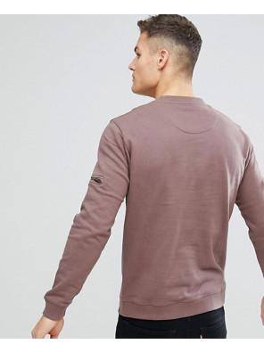 New-Fashionable-Sweatshirt-With-Arm-Zipper-Details