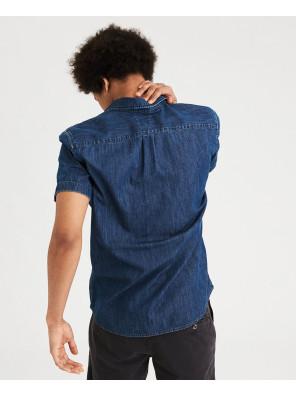 New-Look-Men-Short-Sleeve-Shirt
