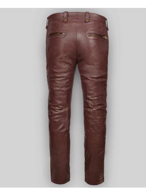 New-Mens-High-Quality-Custom-Leather-Autumn-Spring-Black-Fashion-Slim-Fit