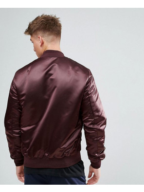 Satin-Look-Bomber-Jacket-In-Burgundy