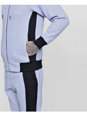 Skinny-Fit-Hooded-Colour-Block-Tracksuit