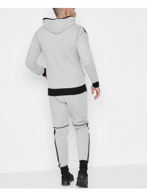 Skinny-Fit-Stripe-Panel-Hooded-Tracksuit