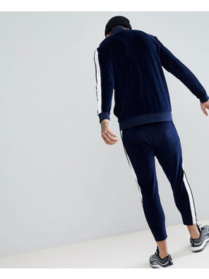 Tracksuit-Track-Jacket-In-Velour-With-Poly-Tricot-Panel-Skinny-Crop-Joggers