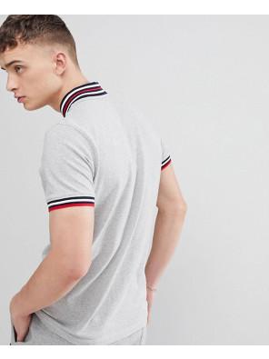 Vintage-Baseball-Polo-Shirt-In-Grey