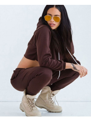 Hot-&-Sexy-Women-Most-Selling-Sweatsuit-in-Dark-Brown