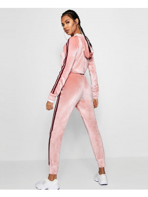 Olivia-Side-Stripe-Velour-Jogger