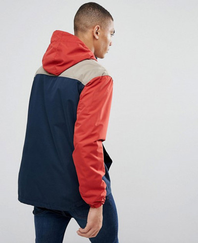 About Apparels On High Quality Men Originals Overhead Windbreaker Jacket