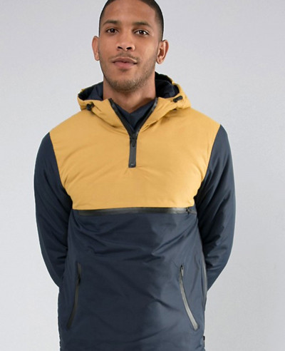 About Apparels Stylish Overhead Windbreaker Jacket