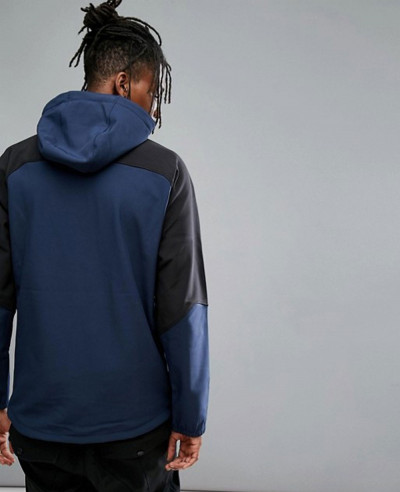 Activewear Exile Softshell Jacket in Ink Blue