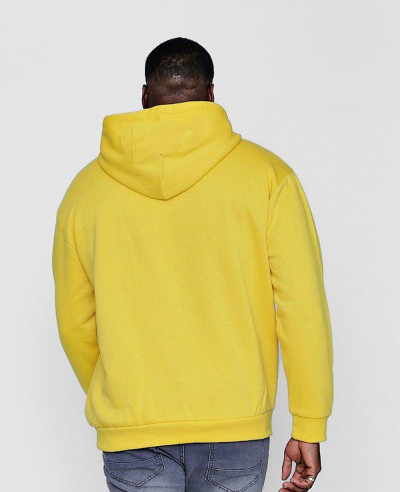 Big And Tall Embroidered Hoodie In Fleece