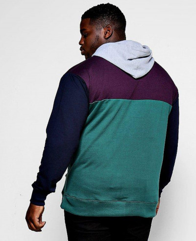 Big-And-Tall-Panelled-Colour-Block-Hoodie