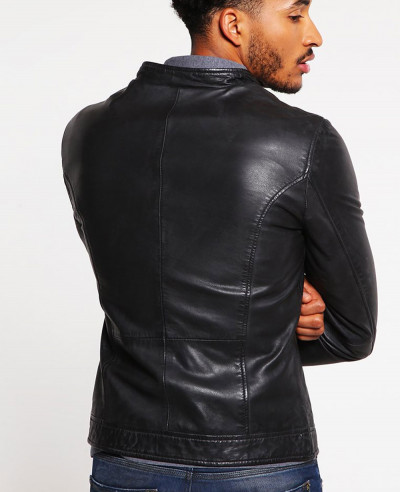 Biker Classic Men Leather Jacket