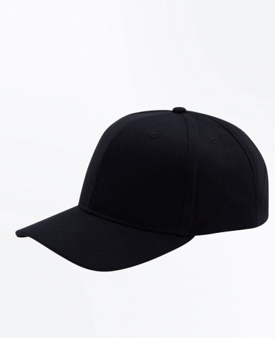 Black Spade Embroidered Cap