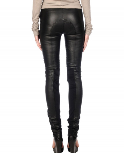 Black-Ultra-Skinny-Women-Leather-Pant