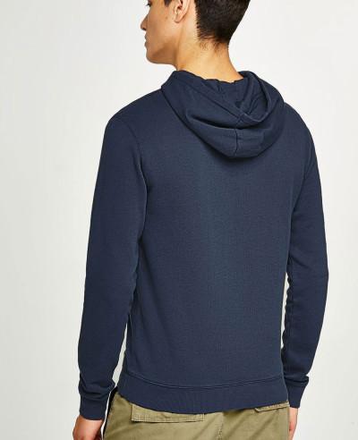 Blue Pullover Custom Hoodie