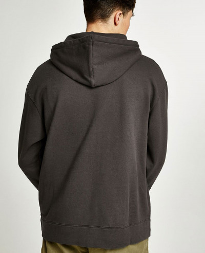 Brown-Pocket-Pullover-Stylish-Hoodie