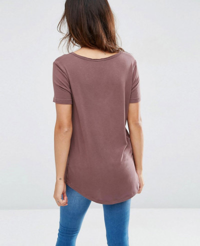 Cheap-Sport-Short-Sleeves-and-Dip-Back-T-Shirt