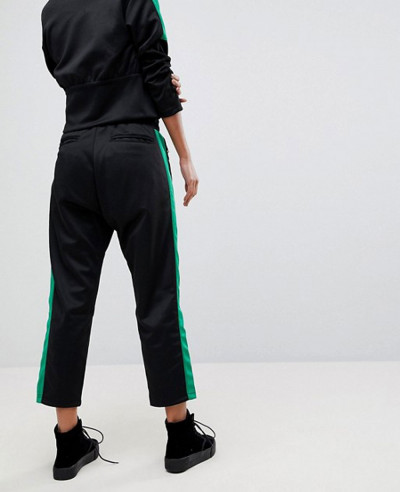 Contrast Stripe Tracksuit Pant