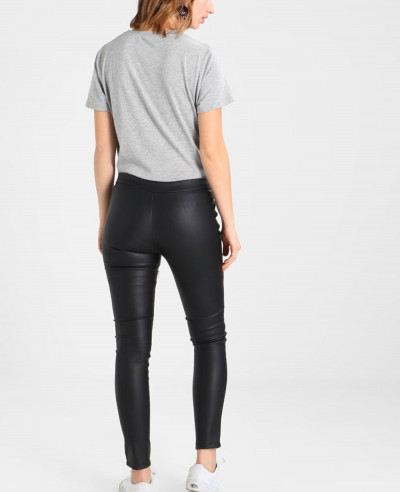 Fashion Leather Skinny Fit Tights Leggings