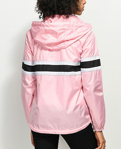 Fashion-Pink-Windbreaker-Jacket