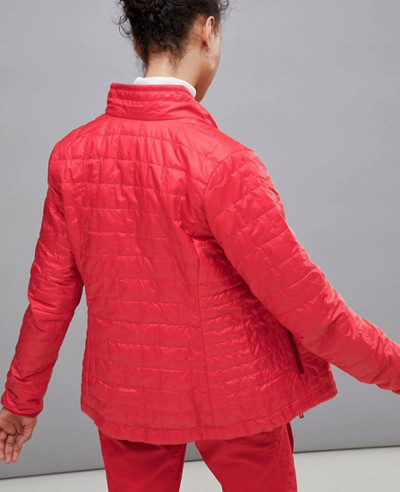 Fashion Puffer Padded Jacket In Red