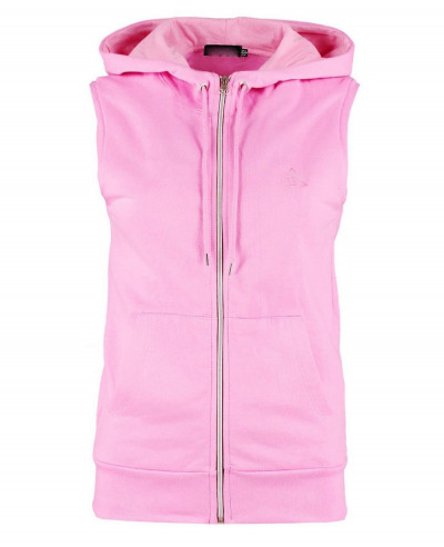 Fit-Sleeveless-Zipper-Through-Hoody
