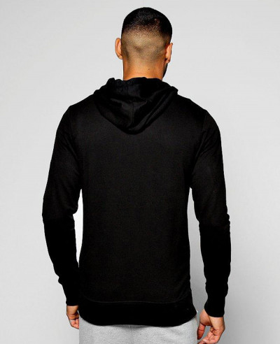 Full Zipper Through Hoodie