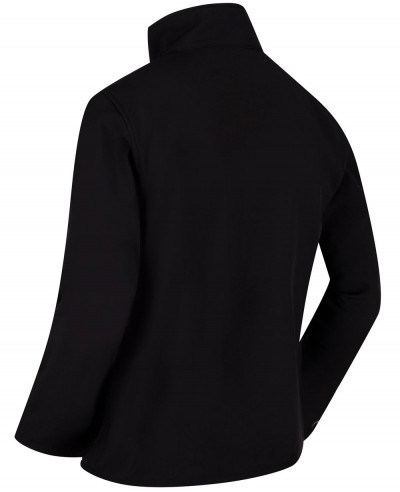 Funnel Neck Softshell Jacket Black