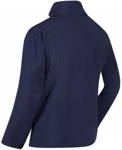 Funnel Neck Softshell Jacket Navy