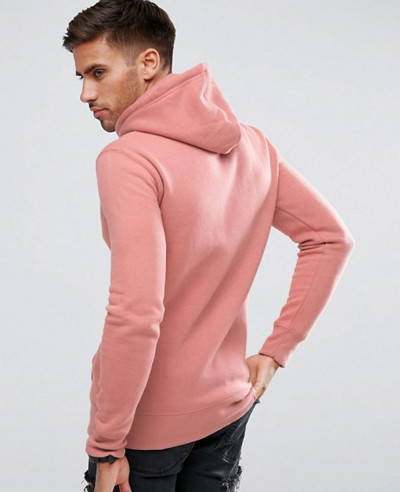 Gym Fit Hot Selling Men Hoodie In Pink