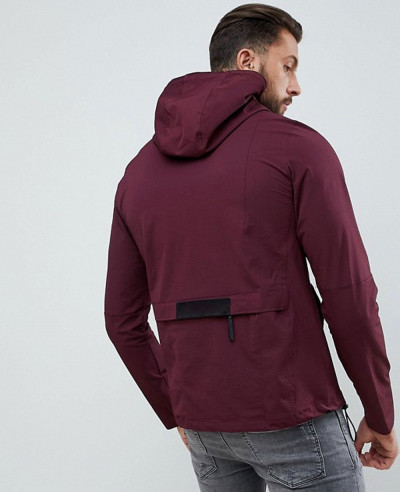 Half-Zipper-Over-The-Head-Windbreaker-Jacket