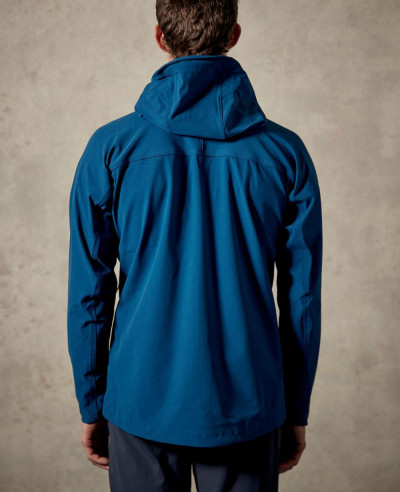High Custom Made Blue Softshell Jacket