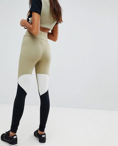 High Quality Custom Color Block Leggings
