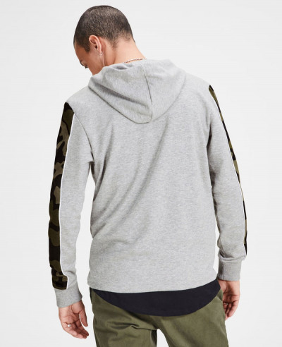 High Quality Custom Made Camo Sleeve Hoodie