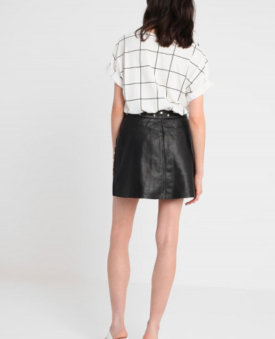 High-Quality-Custom-Made-Leather-Mini-Skirt