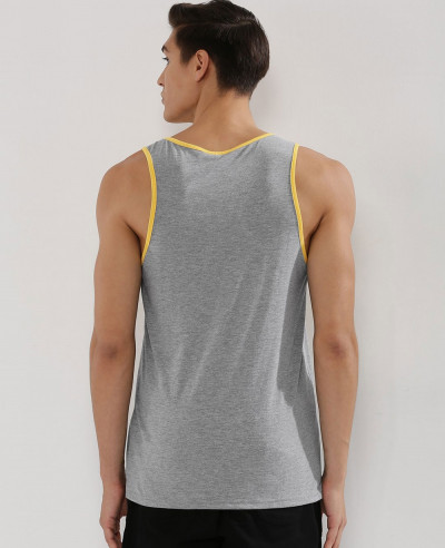 High Quality Men Custom Colour Block Tank Top