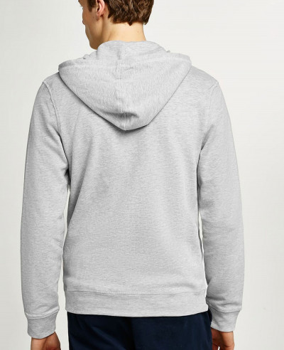 Home Stylish Men Grey Zipper Hoodie