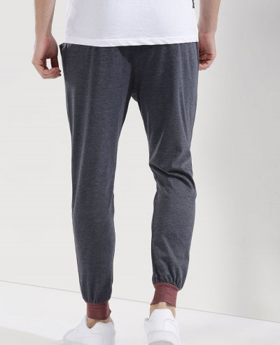 Hot Selling Men Contrast Panel Sweatpant Jogger