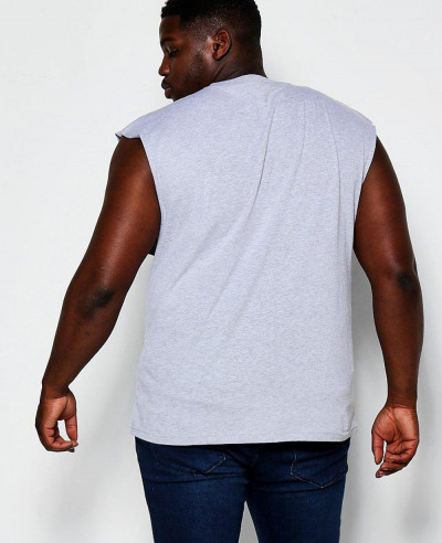 Hot Selling Men Custom Big And Tall Basic Tank Vest