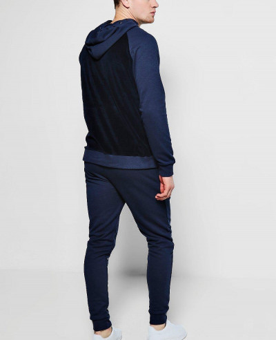 Hot Selling Skinny Fit Velour Tracksuit