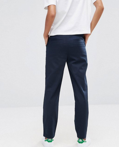 Hot-selling-Women-Custom-Chino-Trousers-in-Navy