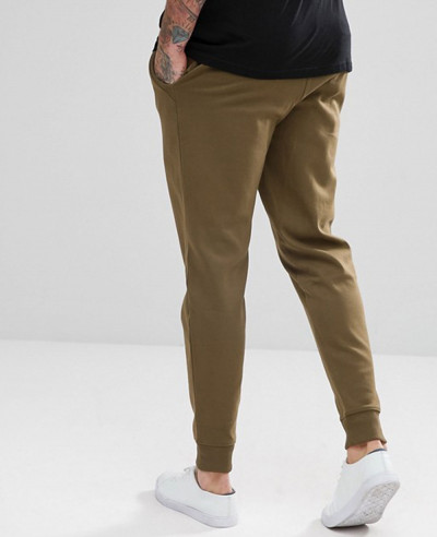 Interlock Sweat Joggers In Khaki