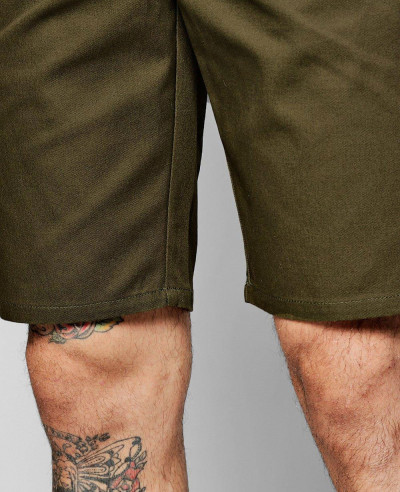 Khaki-Slim-Fit-Chino-Short