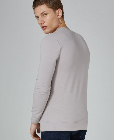 Light Grey Ultra Muscle Sweatshirt
