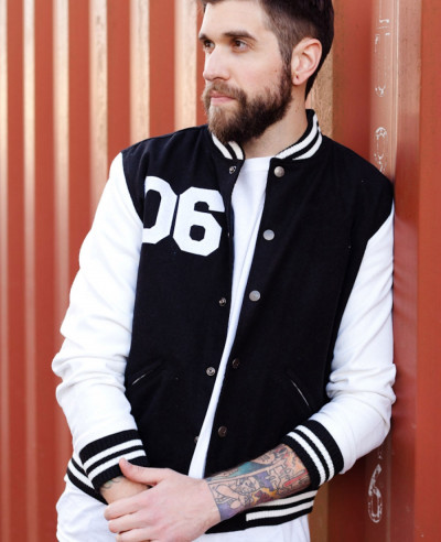 Long Sleeve Lettermen Wool Baseball Varsity Jacket