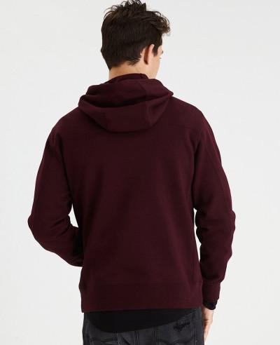 Men Active Reflective Pullover Hoodie