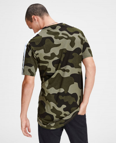Men Camouflage Custom T Shirt