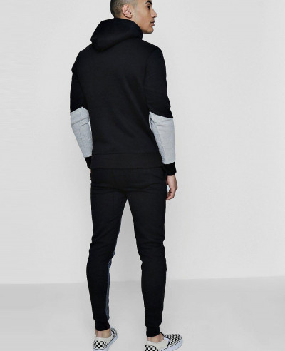 Men-Colour-Block-Hooded-Tracksuit