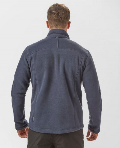 Men Fashionable Full Zipper Fleece Jacket