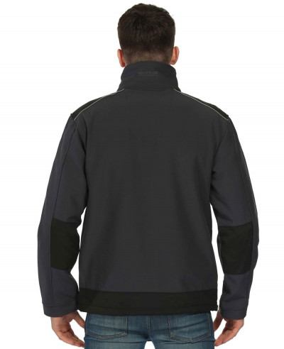 Men Grey Hot Selling Custom Softshell Jacket